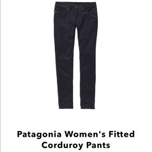 Patagonia women's fitted corduroy sz 29